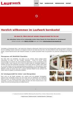 Vorschau der mobilen Webseite www.laufwerk-bernkastel.de, Laufwerk Bernkastel