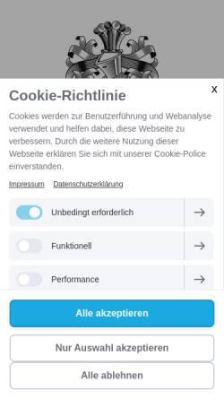 Vorschau der mobilen Webseite www.schneiders-moritz-wein.de, Weingut Schneiders-Moritz GbR