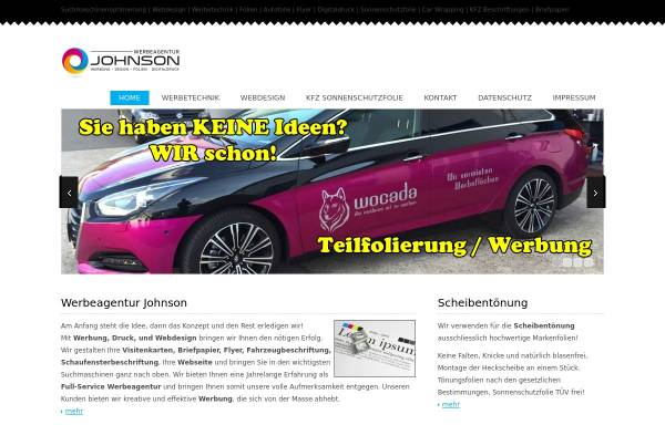 Vorschau von www.werbeagentur-johnson.de, Christos Johnson