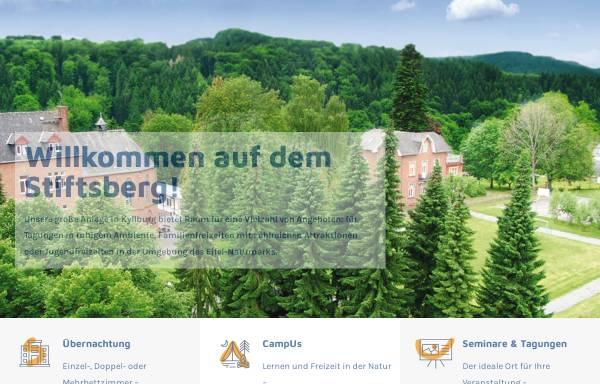 Vorschau von www.stiftsberg.info, Stiftsberg - Bildungs- und Freizeitzentrum