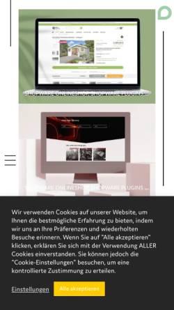 Vorschau der mobilen Webseite botschaft.digital, BOTSCHAFT.digital - Agentur für digitale Kommunikation