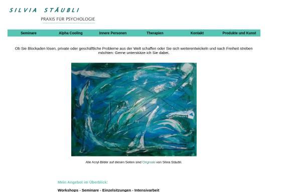 Vorschau von www.therapie-staeubli.ch, Therapie für spirituelle Psychologie