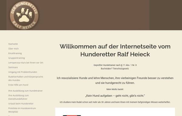 Vorschau von www.der-hunderetter.de, Hunderetter Ralf Heieck