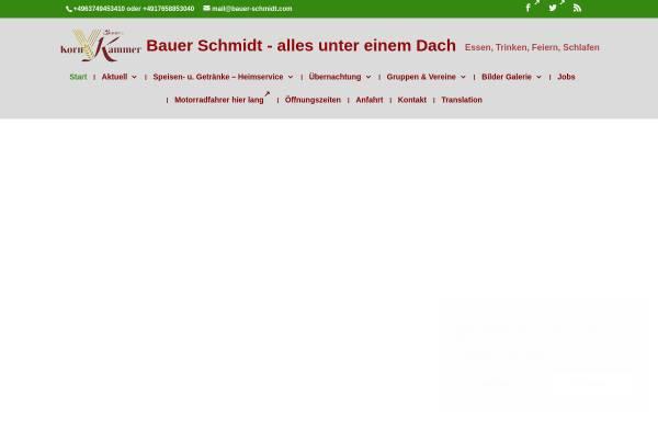 Vorschau von www.bauer-schmidt.com, Bauer Schmidt GmbH & Co. KG