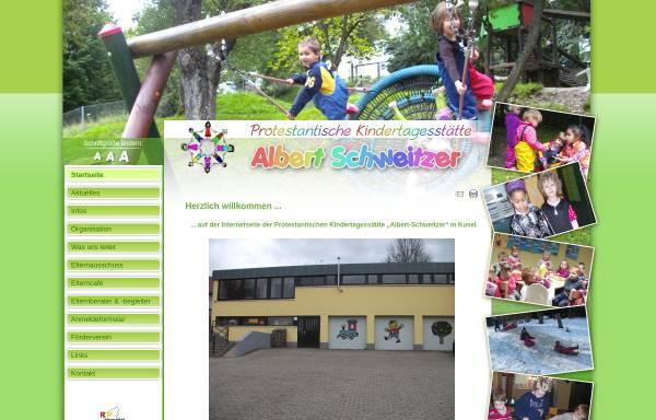 Vorschau von www.kita-albert-schweitzer-kusel.de, Ev. Kindertagesstätte Albert-Schweitzer - Kusel