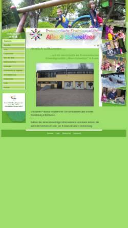 Vorschau der mobilen Webseite www.kita-albert-schweitzer-kusel.de, Ev. Kindertagesstätte Albert-Schweitzer - Kusel