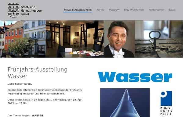 Vorschau von museum.kusel.de, Stadt- und Heimatmuseum Kusel