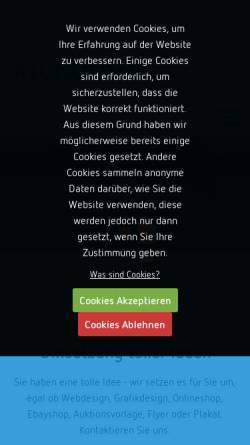 Vorschau der mobilen Webseite xtc-kontor.de, XtcKontor Ecommerce und Webdesign Agentur