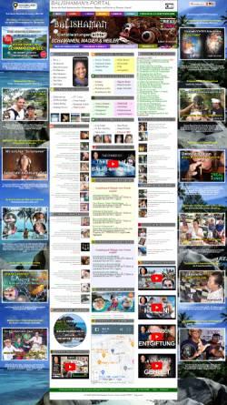 Vorschau der mobilen Webseite balishaman.com, Balishamans Portal