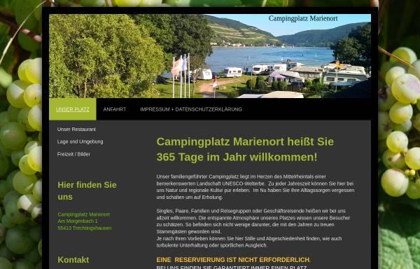 Vorschau von www.campingplatz-marienort.de, Campingplatz Marienort