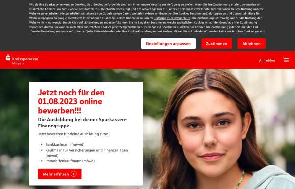 Vorschau von www.kskmayen.de, Kreissparkasse Mayen