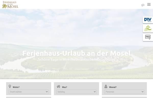 Vorschau von www.ferienhaus-mosel.de, Ferienhaus Mosel - Thorsten Blum