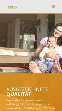 Vorschau der mobilen Webseite www.ws-immo.info, Hausverwaltung im Westerwald