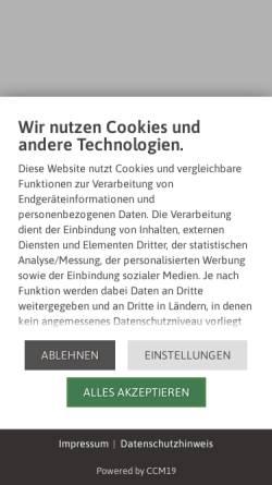 Vorschau der mobilen Webseite www.hotel-kronprinzen.de, Hotel zum Kronprinzen