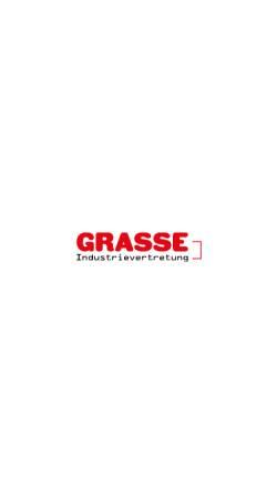 Vorschau der mobilen Webseite www.stromaggregate-grasse.de, Grasse Industrievertretung