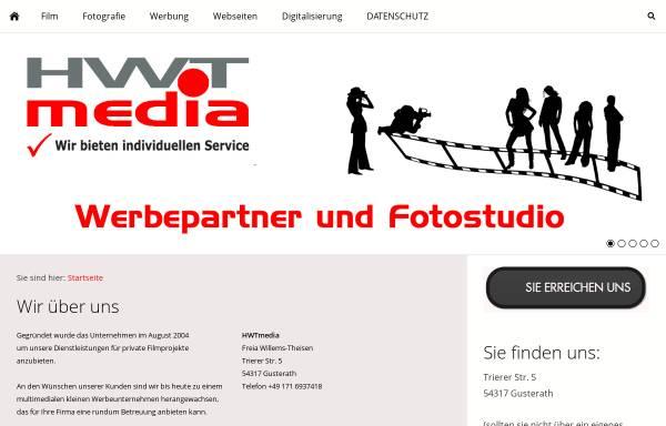 Vorschau von www.hwtmedia.de, HWTmedia Inh. Hermann Willems-Theisen