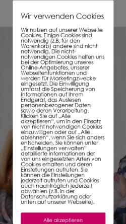 Vorschau der mobilen Webseite www.country-verlag.de, Country-Verlag
