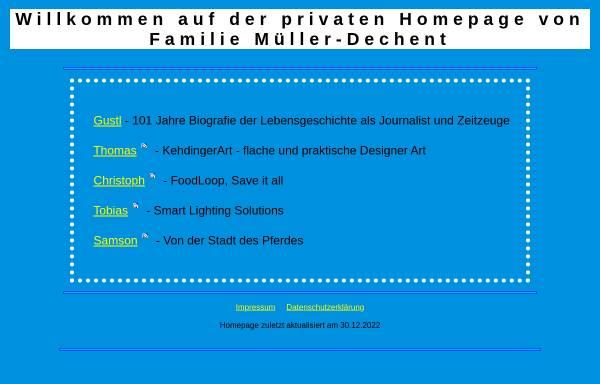 Vorschau von www.mueller-dechent.de, Gustl-Müller-Dechent Verlag