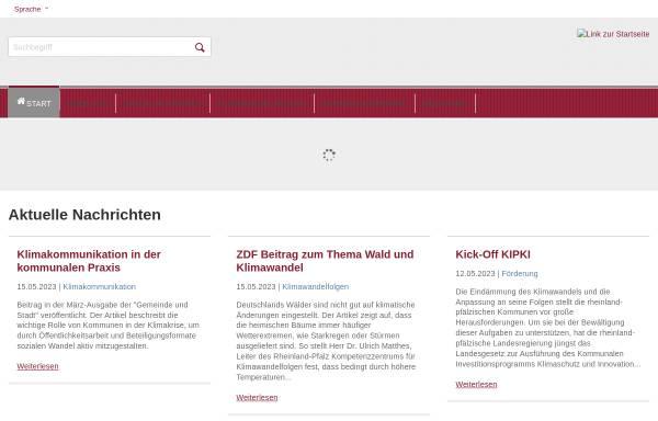 Vorschau von www.kwis-rlp.de, Klimawandelinformationssystem Rheinland-Pfalz (kwis-rlp)