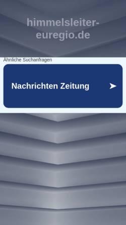 Vorschau der mobilen Webseite www.himmelsleiter-euregio.de, Himmelsleiter-Euregio
