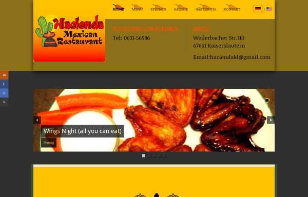 Vorschau von de.hacienda-kl.com, Hacienda