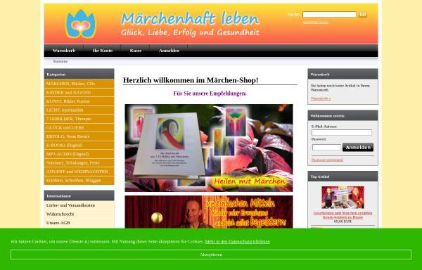 Vorschau von www.maerchen-versand.de, Märchen Versand Troubadour