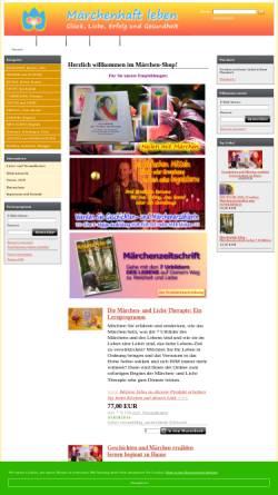 Vorschau der mobilen Webseite www.maerchen-versand.de, Märchen Versand Troubadour