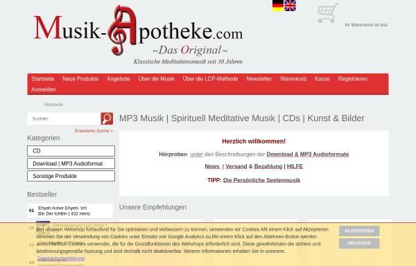 Vorschau von www.musik-apotheke.com, Musik-Apotheke