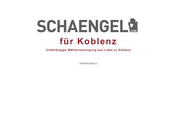 Vorschau von www.schaengel.com, Unabhängige Wählervereinigung Schängel für Koblenz