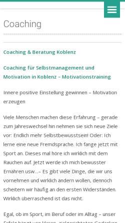 Vorschau der mobilen Webseite www.magische-ideen.de, Klaus G. Lieg