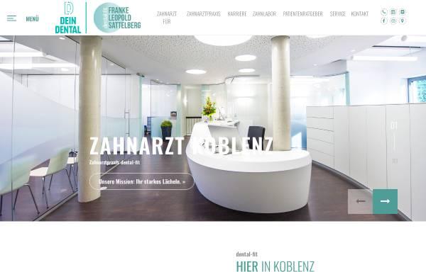 Vorschau von www.dental-fit.de, Franke-Leopold-Sattelberg / dental:fit