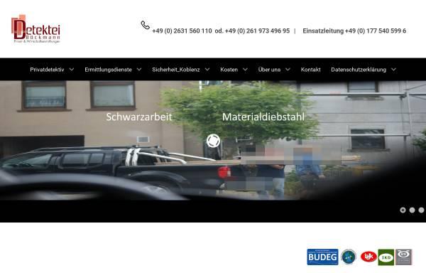 Vorschau von www.detektei-boeckmann.de, Detektei Böckmann, Inh. Guido Böckmann