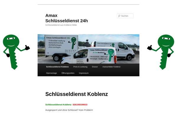 Vorschau von www.amax24.de, Amax Schlüsseldienst
