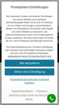 Vorschau der mobilen Webseite www.amax24.de, Amax Schlüsseldienst