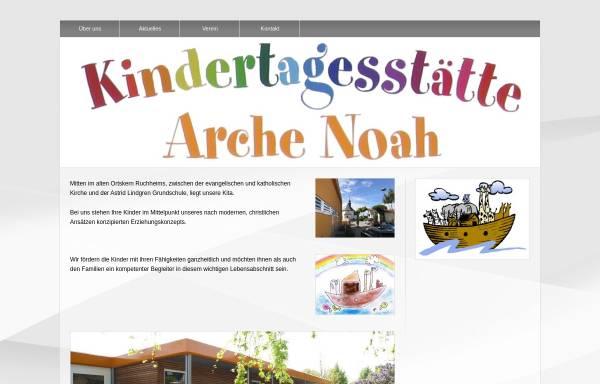 Vorschau von kiga-ruchheim.de, Arche Noah Ruchheim