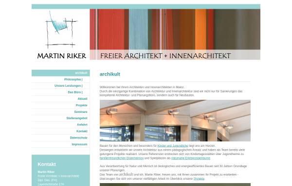 Architekt Mainz archikult architekt martin riker mainz bauwesen wirtschaft