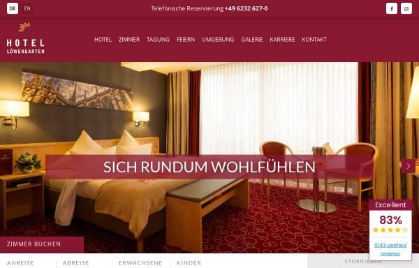 Vorschau von www.hotel-loewengarten.de, Hotel Löwengarten