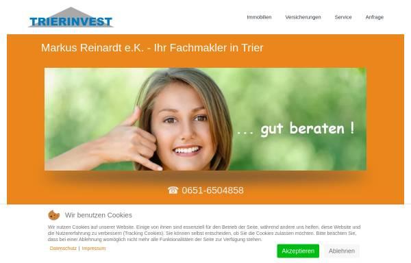 Vorschau von www.trierinvest-immobilien.de, Trierinvest Immobilien - Markus Reinardt e.K.