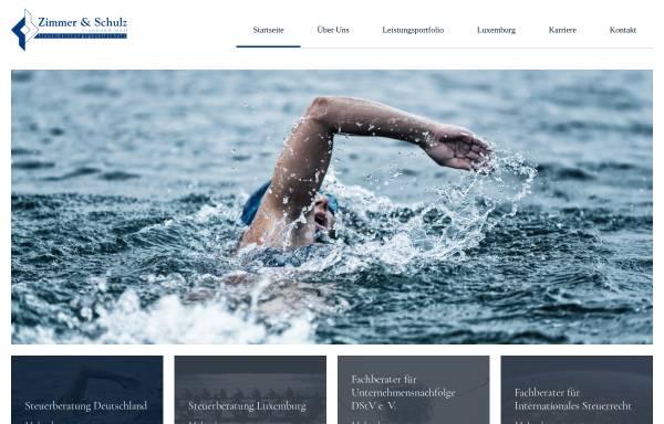 Vorschau von www.zimmer-und-schulz.de, Zimmer und Schulz Treuhand mbH