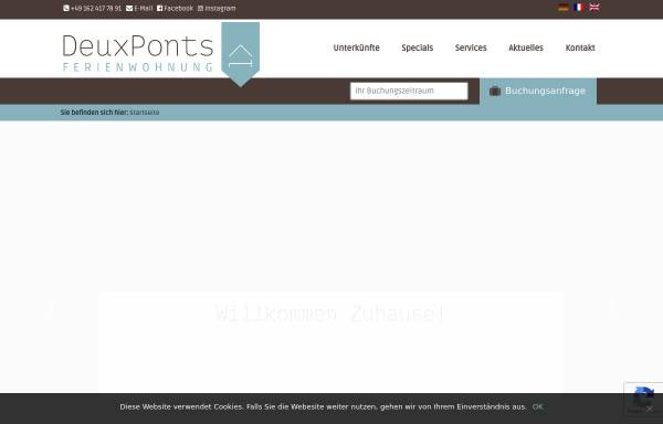 Vorschau von deuxponts-ferienwohnung.de, Ferienwohnung DeuxPonts