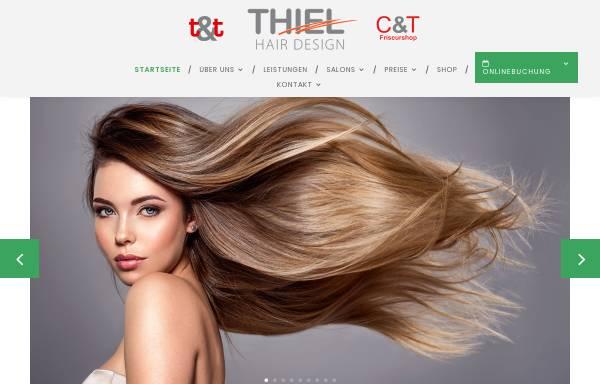 Vorschau von www.thiel-hair-design.de, Thiel Hair Design UG