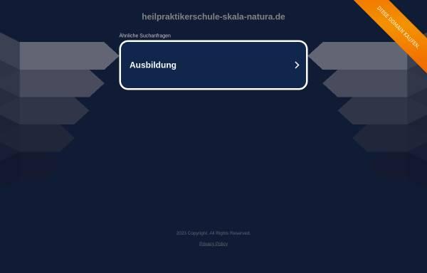 Vorschau von www.heilpraktikerschule-skala-natura.de, Heilpraktikerschule Skala Natura