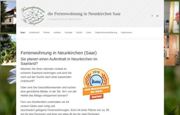Vorschau von www.ferienwohnung-wiebelskirchen.de, Ferienapartment Am Märzbrunnen