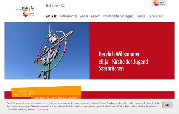 Vorschau von www.eli-ja.de, Eli.ja Katholische Kirche der Jugend St. Elisabeth