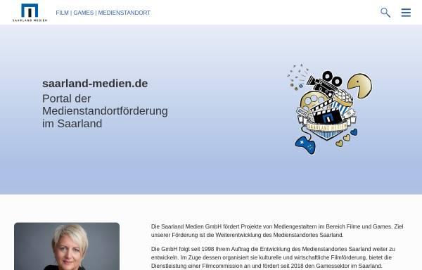 Vorschau von www.saarland-medien.de, Saarland Medien GmbH