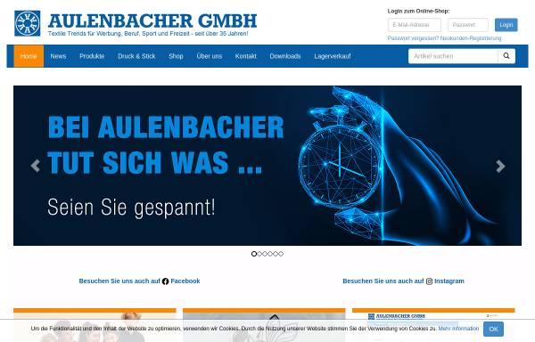 Vorschau von www.aulenbacher.de, Aulenbacher GmbH