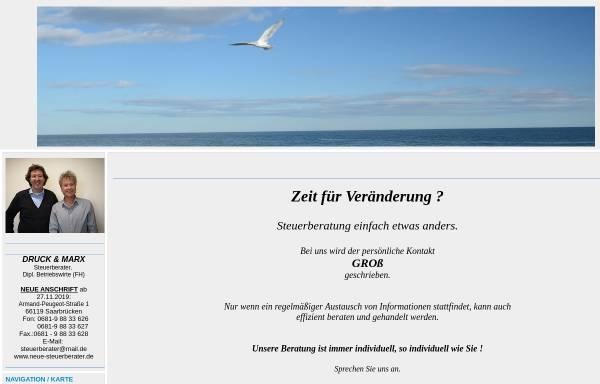 Vorschau von www.neue-steuerberater.de, Druck und Marx