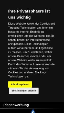 Vorschau der mobilen Webseite www.anhaenger-gmach.de, Anhängervertrieb Michael Gmach, Kleinwethau