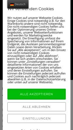 Vorschau der mobilen Webseite wagnertuning.com, Wagnertuning, Carsten Wagner GBR