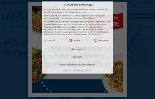 Vorschau von www.laola-zentralkueche.de, LaOla-Zentralküche